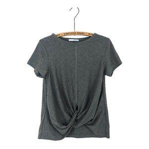 ELLE Front Knot T Shirt
